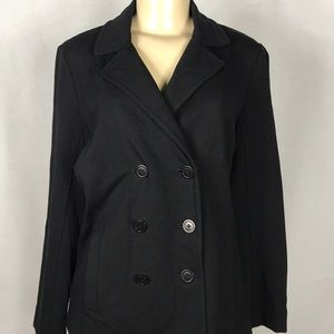Eileen Fisher Stretch French Terry Coat